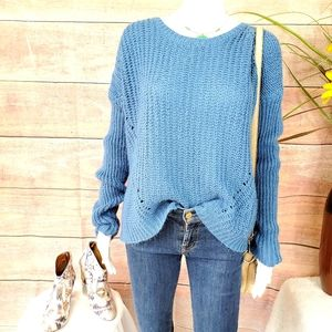 Anthropologie Element soft chunky knit sweater